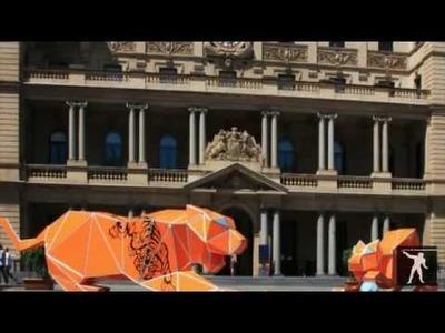 Barrisol - Tigres Origami