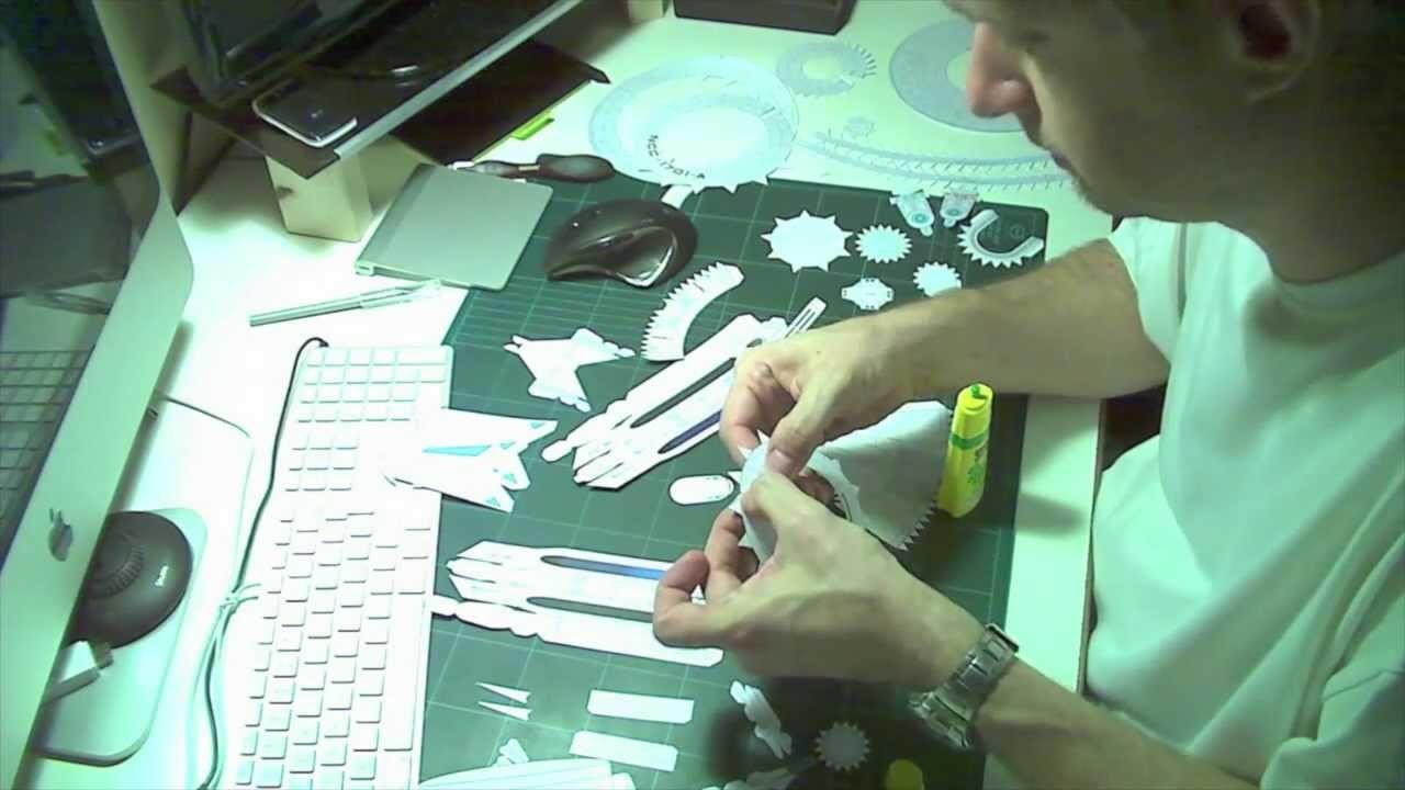Bricolo et Mulot - Ep 13 - PaperCraft et PaperToys - Enterprise NCC 1701A