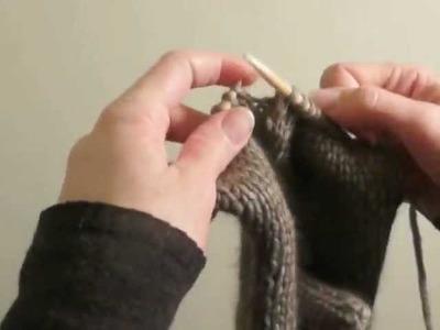 Cours de tricot 15 - tricoter des moufles