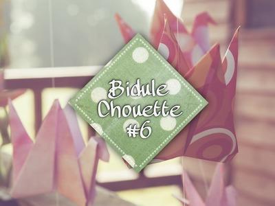 [DIY] Bidule Chouette #6 - Une guirlande en origami