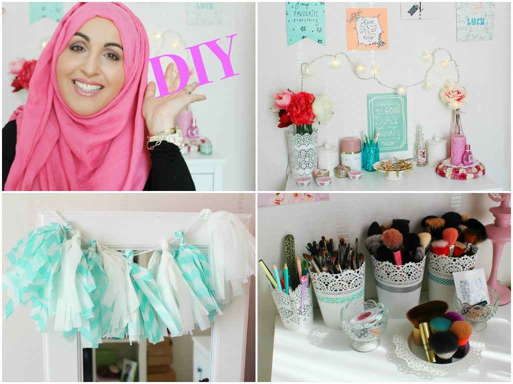 DIY | Spring room decor ♡  Déco printemps | AsmaMakeUp