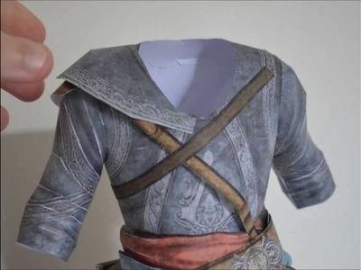 Ezio Assassin's Creed Revelations Papercraft