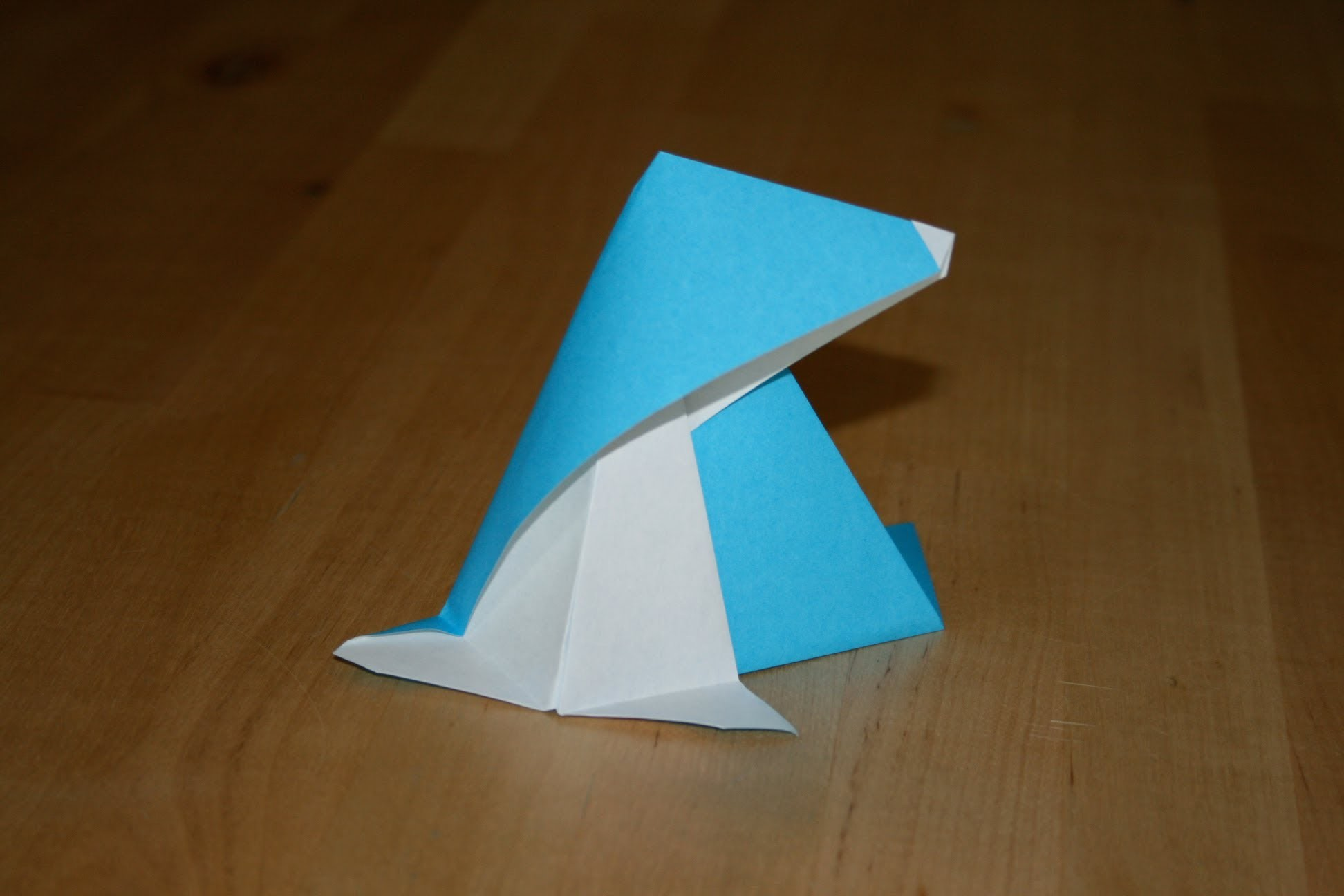 Origami - Bébé phoque - Baby Seal [Senbazuru]