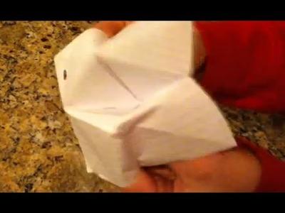 Origami -  Fabriquer un coin-coin en papier!