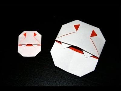 Origami Halloween - Mini Dracula [Senbazuru]