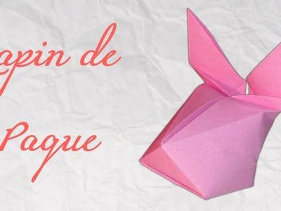 Origami ! Lapin de pâque à gonfler [ HD ]