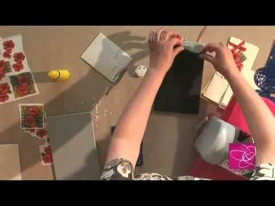 Scrapbooking Carte 3D et embossage