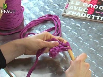 Apprendre le crochet : les côtes au crochet