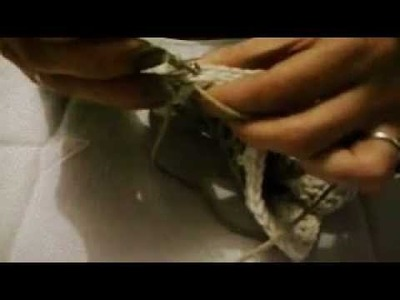 ASSEMBLAGE DE GRANNY au crochet en maille coulée