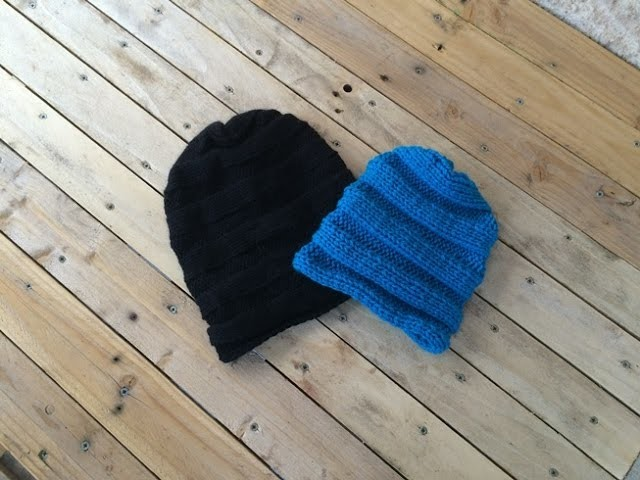 Bonnet tombant unisex toutes les tailles. slouchy knitting. boina caida dos agujas
