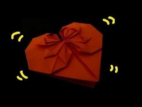 Comment faire un romantique origami coeur