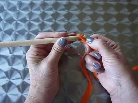 Comment faire une chaînette au crochet pour gauchère
