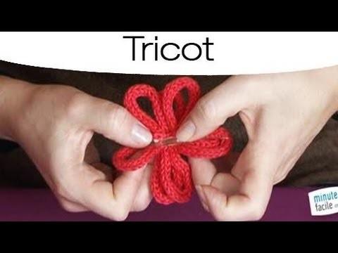 Création: Faire une broche en tricotin