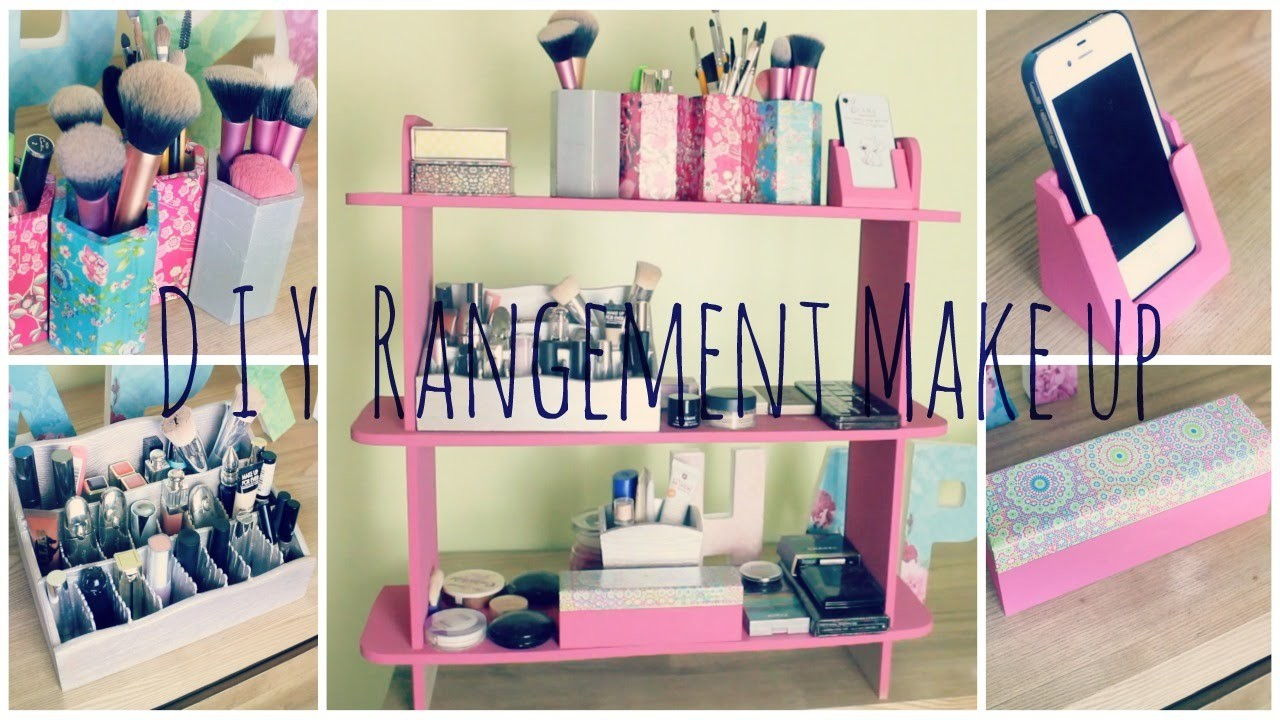 [ D.I.Y #3 ] : Rangement Make up ! ☼