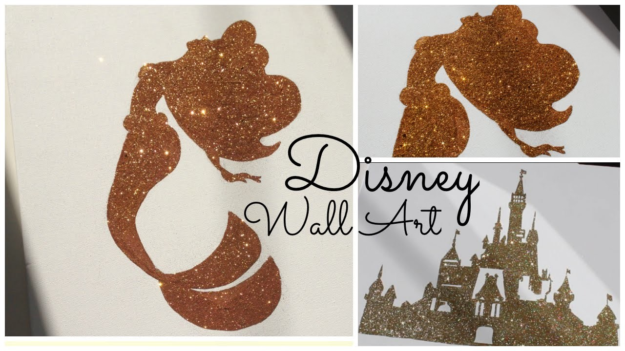 Disney Wall Art - Toiles féériques DIY | GeorgiaSecrets