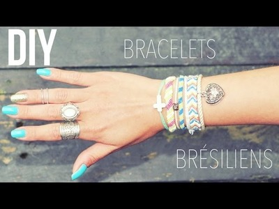 DIY │Bracelets Brésiliens ▵ Alyssia