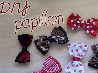 DIY: Comment faire le Nœud Papillon   ✂   How Make a Bow ✂