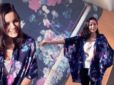 DIY Couture - Comment faire un Kimono en 30 Minutes | Cecile