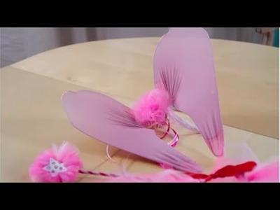 DIY : Faire des ailes de Fée. Costume de Fée