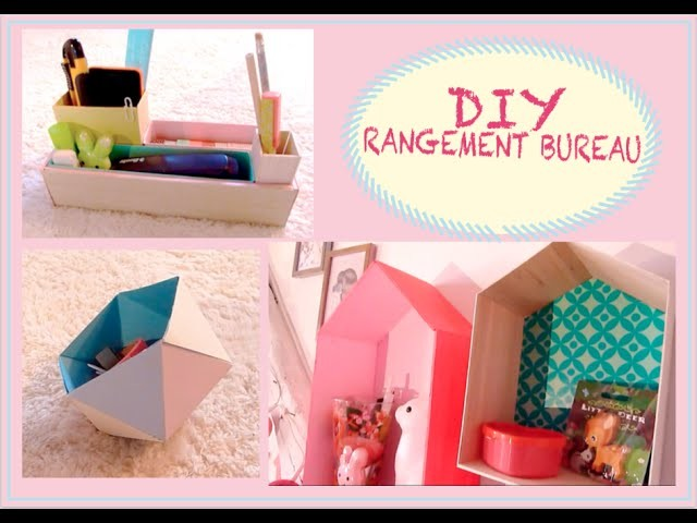 ✿ DIY SPRING : Rangement bureau. make up  ✿