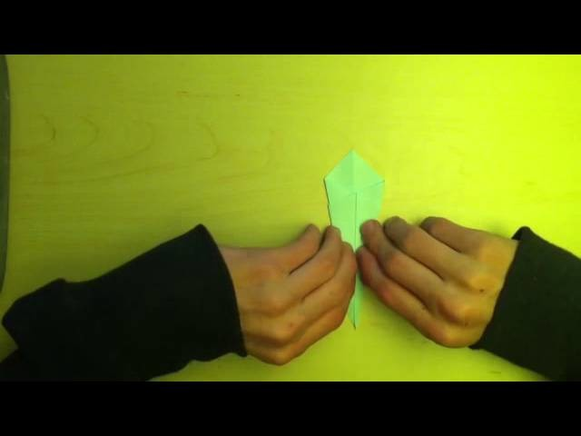 Faire un cygne en origami - Oiseau en papier