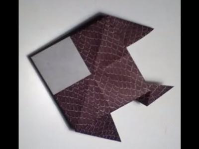 Faire un poisson en origami - Poisson en papier