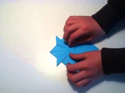 Faire un poisson japonais en origami - Poisson en papier avec nageoires