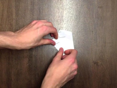 Faire une planche à voile qui avance au souffle en origami - Pliage papier
