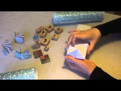 Mini livre en origami