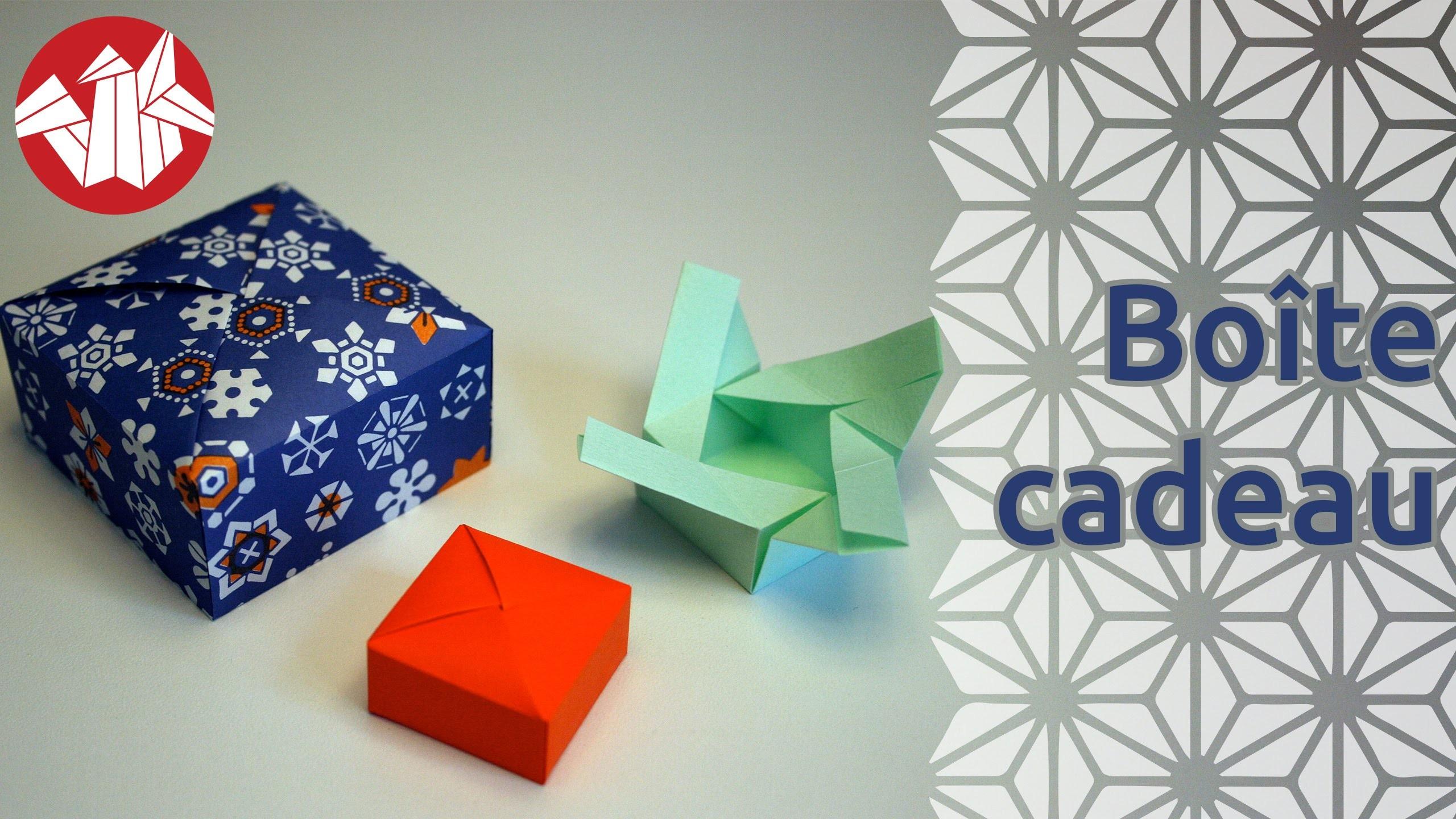 Origami - Boîte cadeau - Gift box [Senbazuru]