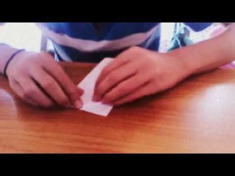 Origami box very easy