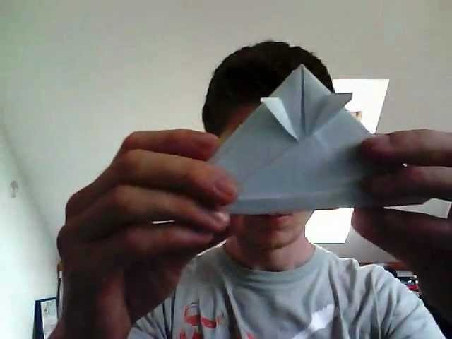 Origami casque de samouraï
