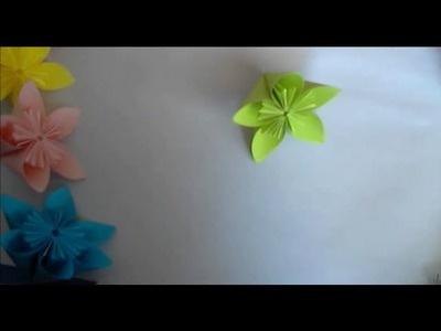 Origami Fleur Kusadama