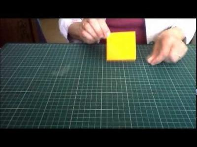 Origami pochette poisson Premier Avril.wmv