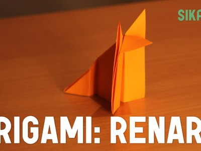 Origami : Renard en papier (facile) - HD