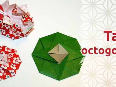 Origami - Tato octogonal [Senbazuru]