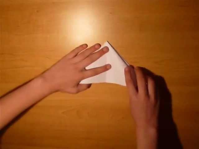Origami tête de lapin