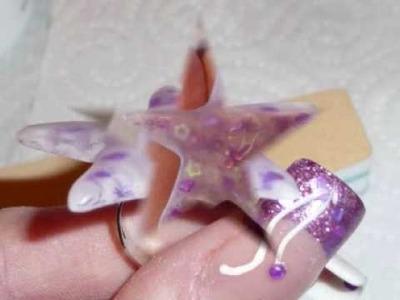 Tutoriel bague étoile en résine acrylique