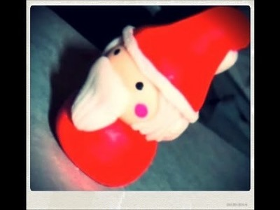 Tutoriel - DIY : Comment faire un père Noël en Fimo - Polymer Clay Santa Claus