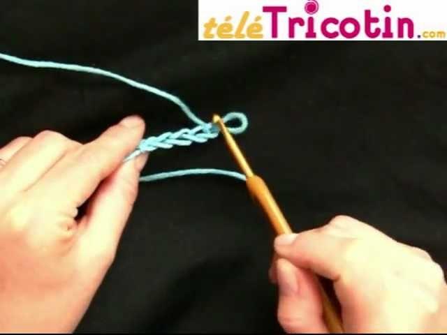 COURS COMPLET : Le Crochet - faire une chaînette ou maille en l'air