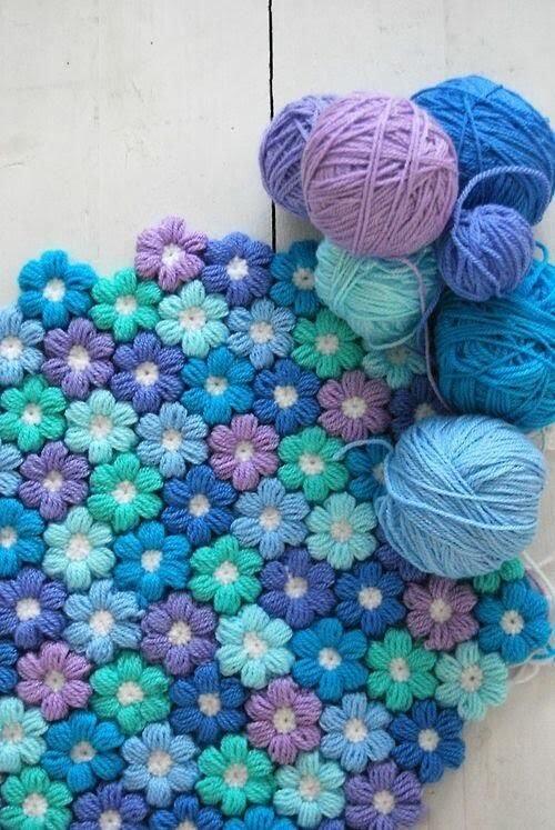 Cours de crochet pour débutant. Fleurs facile