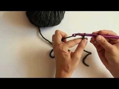 Crochet - Faire une chaînette - Tutoriel