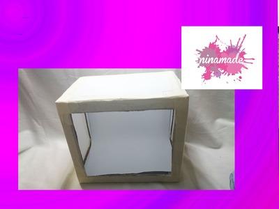 DIY.Comment faire une boîte à lumière.
