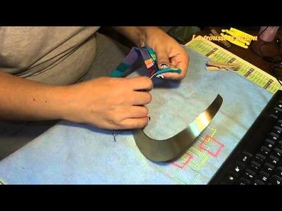 [DIY]Customiser un collier en madras, wax ou autre