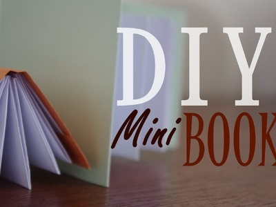 ★ DIY - Mini Modular Origami Book ( Easy )