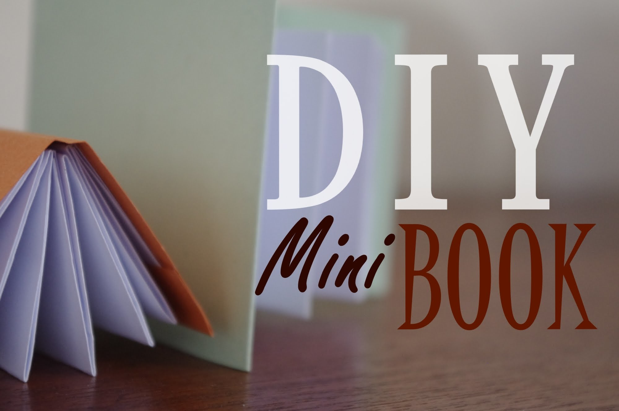 ★ DIY - Mini Modular Origami Book ( Easy )