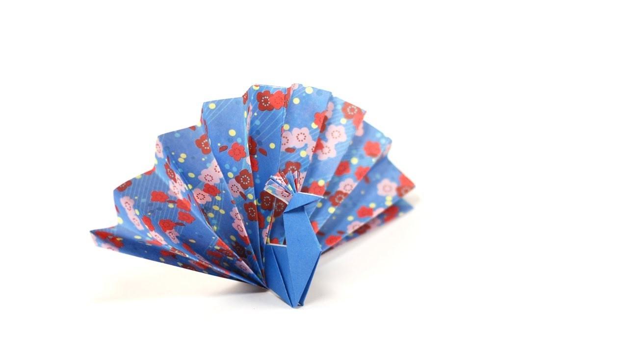 DIY - Origami Paon by Fraises au sucre