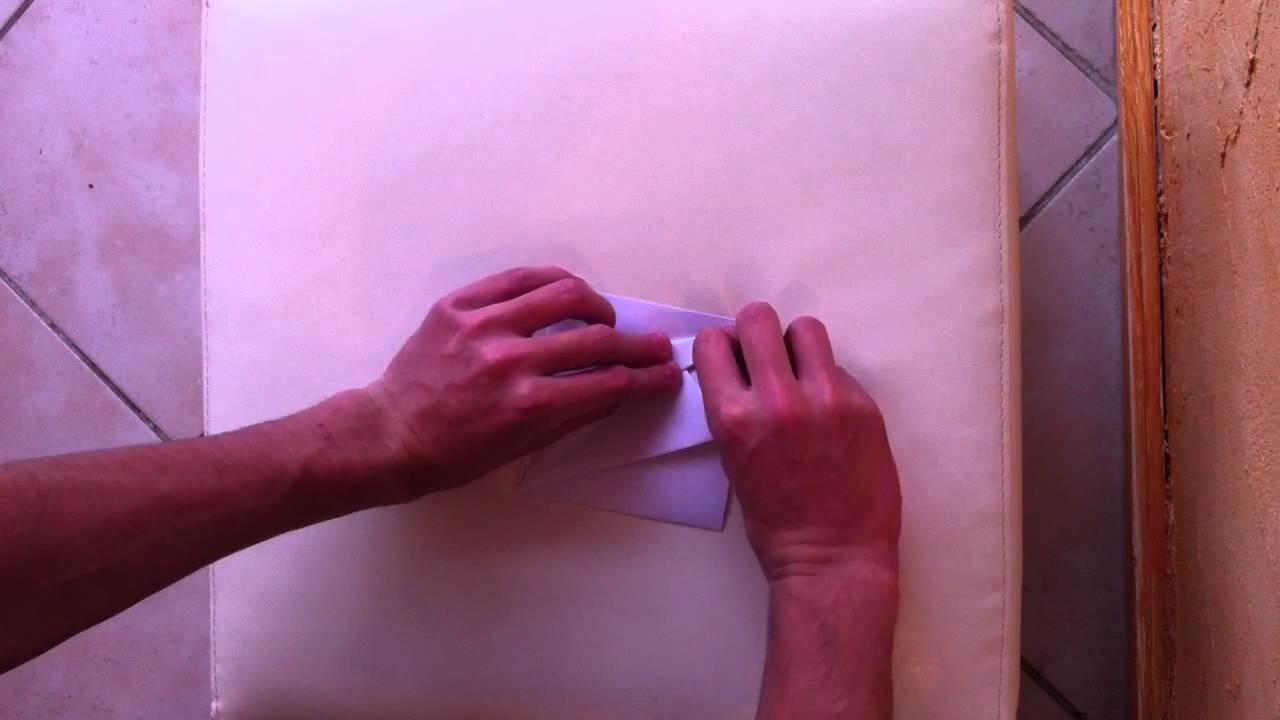 Faire un coeur en papier - Pliage d'origami