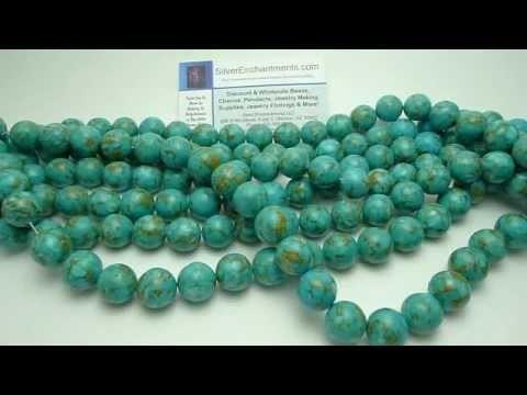 Mosaic Turtle Turquoise Beads - BD1706