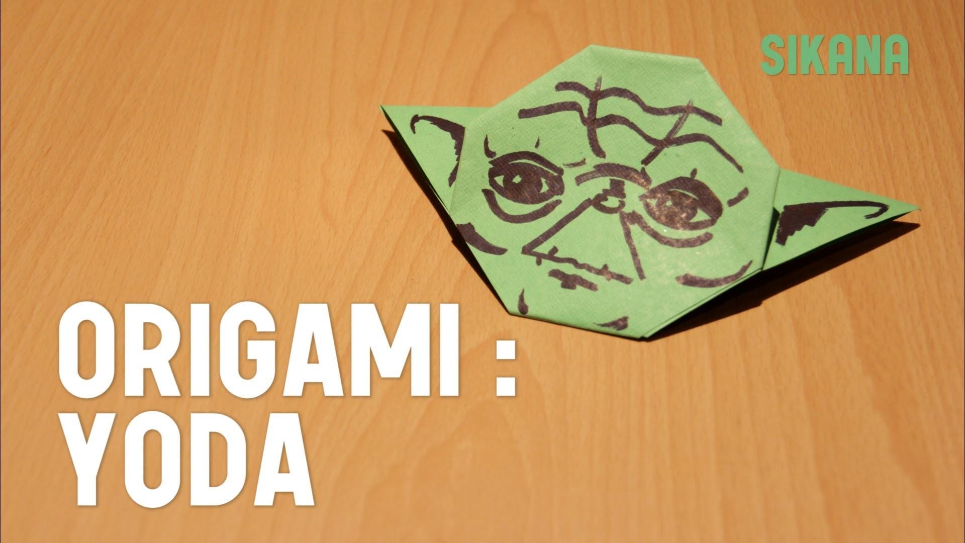 Origami : Faire un origami de Yoda - HD